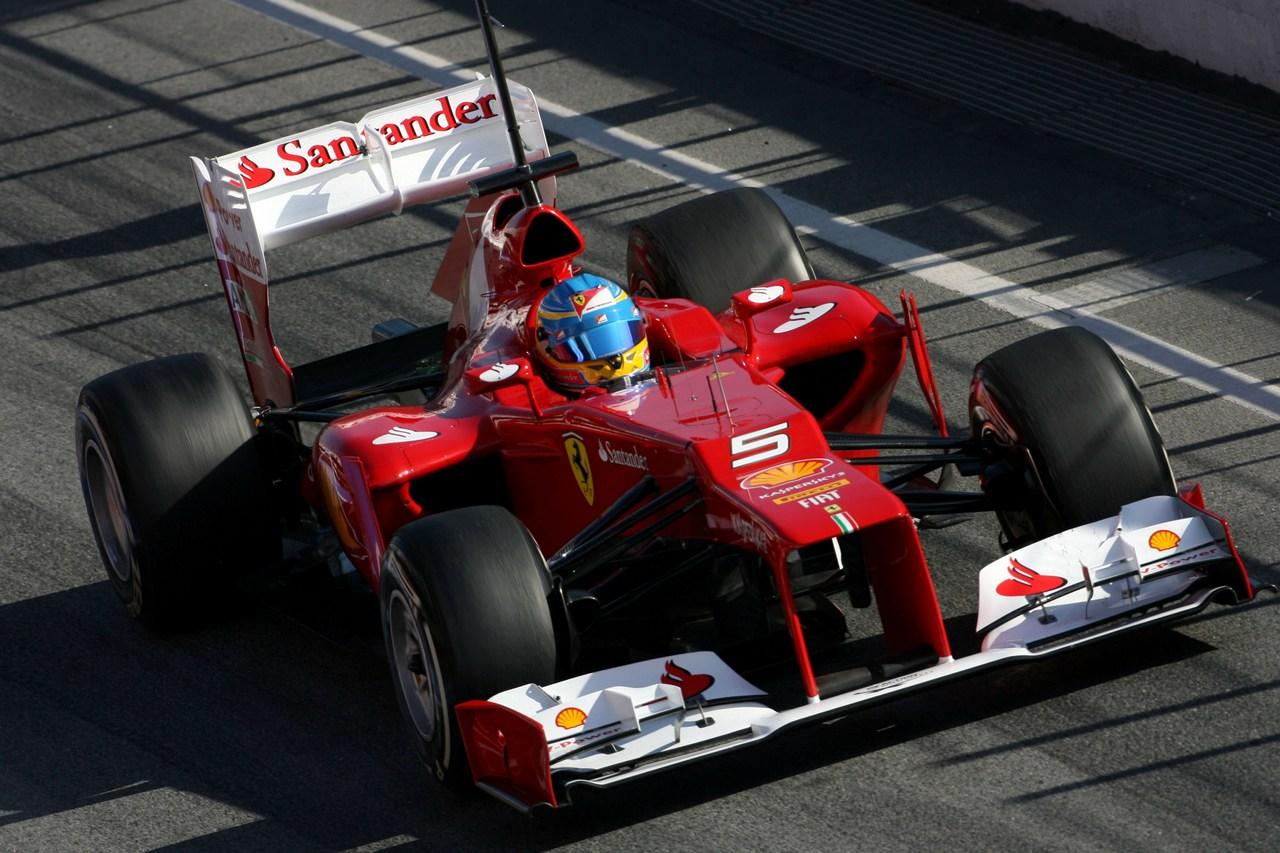 Motor Racing - Formula One World Championship - Barcelona F1 Test - Day 1 - Barcelona, Spain