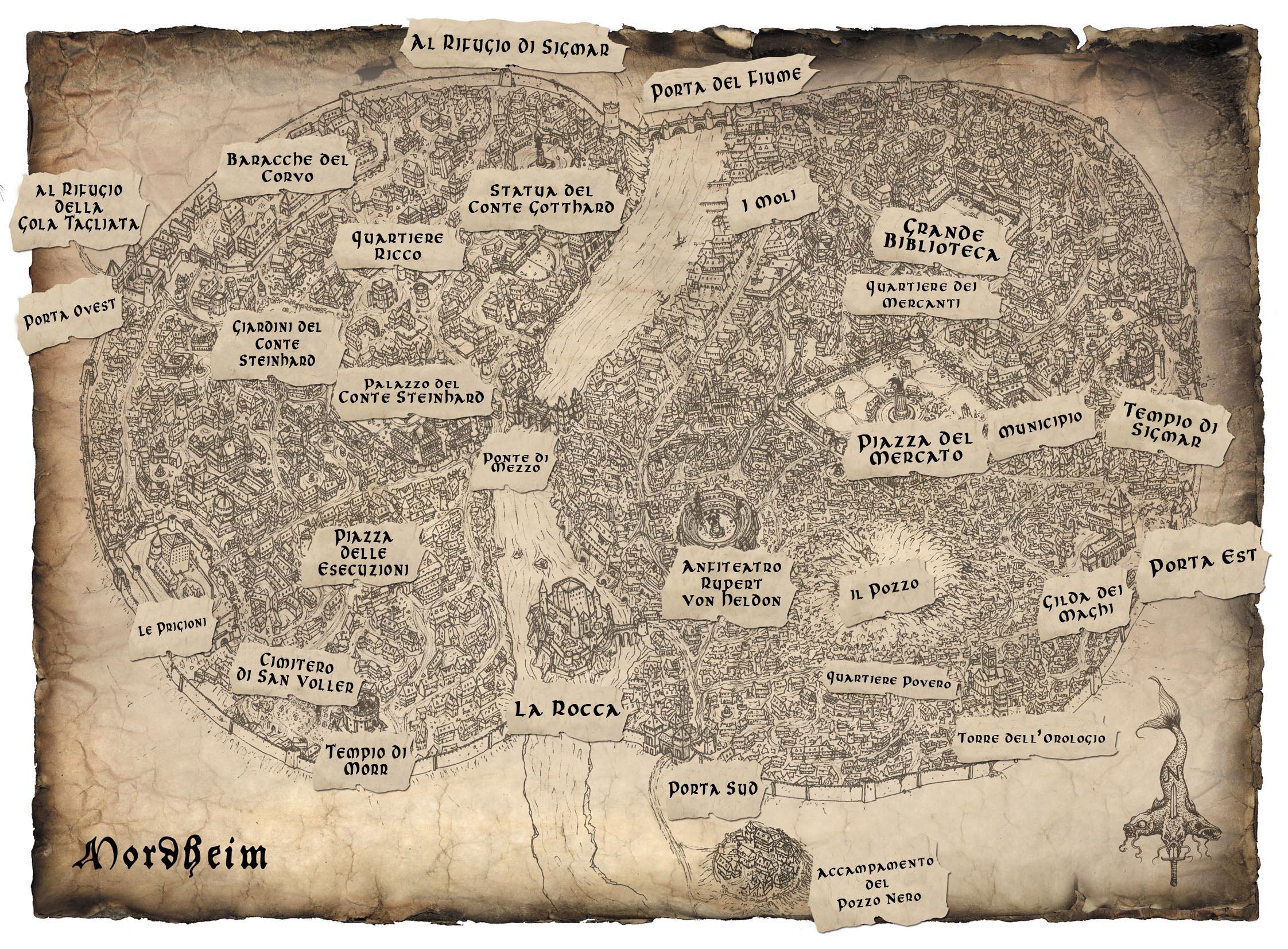 Mappa ZONE